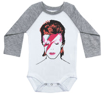 Load image into Gallery viewer, David Bowie / Raglan Onesie / Ziggy Stardust