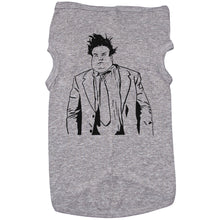 Load image into Gallery viewer, Grey Dog T-Shirt with Chris Farley Graphic