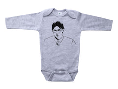 JIM AS DWIGHT / Jim as Dwight Baby Onesie
