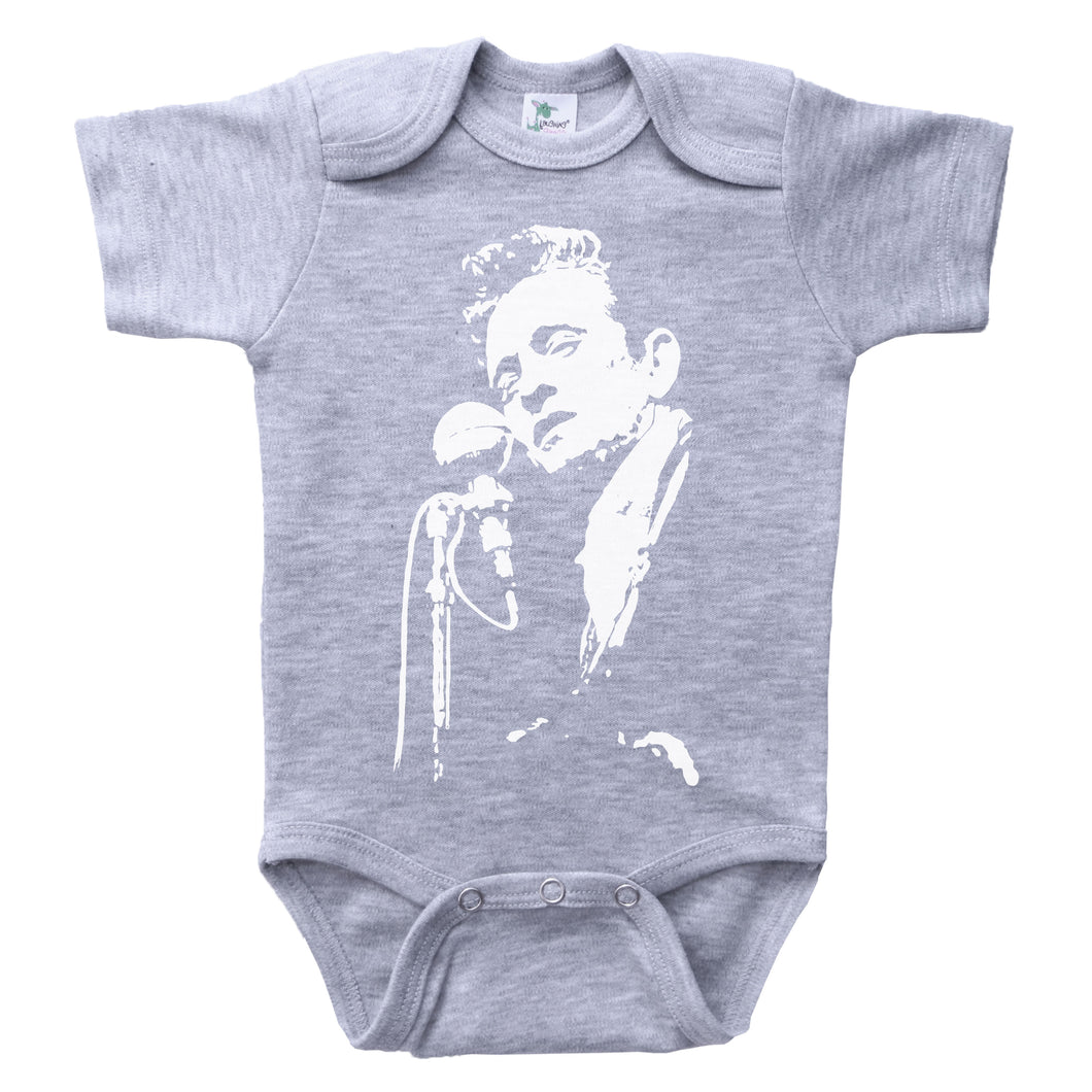 JOHNNY CASH / Johnny Cash Baby Onesie