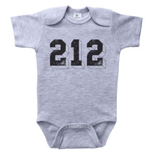 Load image into Gallery viewer, 212 / NYC Area Code Baby Onesie