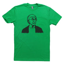 Load image into Gallery viewer, Green Adult Unisex T-Shirt with Larry David Graphic