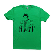 Load image into Gallery viewer, Green Adult Unisex T-Shirt with Chris Farley Graphic
