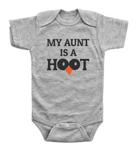 Load image into Gallery viewer, My Aunt Is A Hoot / Auntie Basic Onesie