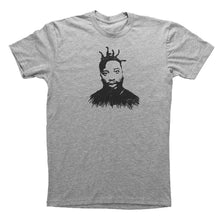 Load image into Gallery viewer, Heather Grey Adult Unisex T-Shirt with Ol' Dirty Bastard Graphic