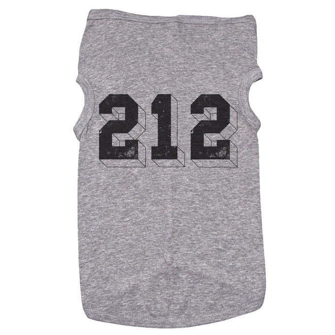 A dog tank top with the text