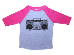 BOOMBOX / Boombox Raglan Baseball Shirt for Toddlers