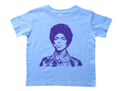 PURPLE PRINCE / Purple Prince Crew Neck Short Sleeve Toddler Shirt