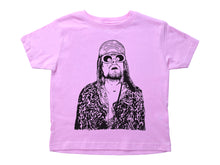 Load image into Gallery viewer, Kurt Cobain / Kurt Cobain Crew Neck Short Sleeve Toddler Shirt