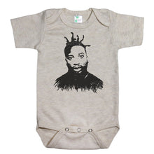 Load image into Gallery viewer, Oatmeal Onesie with Ol' Dirty Bastard Graphic