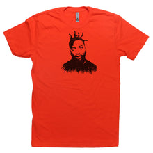 Load image into Gallery viewer, Orange Adult Unisex T-Shirt with Ol' Dirty Bastard Graphic