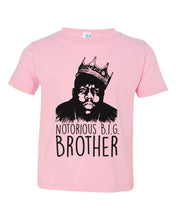 Load image into Gallery viewer, Notorious Big Brother / Toddler Crew Neck / Biggie Smalls