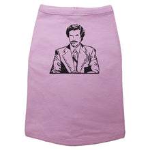 Load image into Gallery viewer, Ron Burgundy - Dog T-Shirt