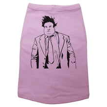 Load image into Gallery viewer, Pink Dog T-Shirt with Chris Farley Graphic