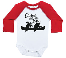 Load image into Gallery viewer, Canoe Feel The Love / Raglan Onesie / Long Sleeve