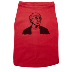 Red Dog T-Shirt with Larry David Graphic