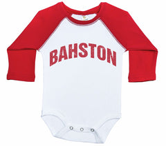 BAHSTON / Boston Inspired Raglan Onesie