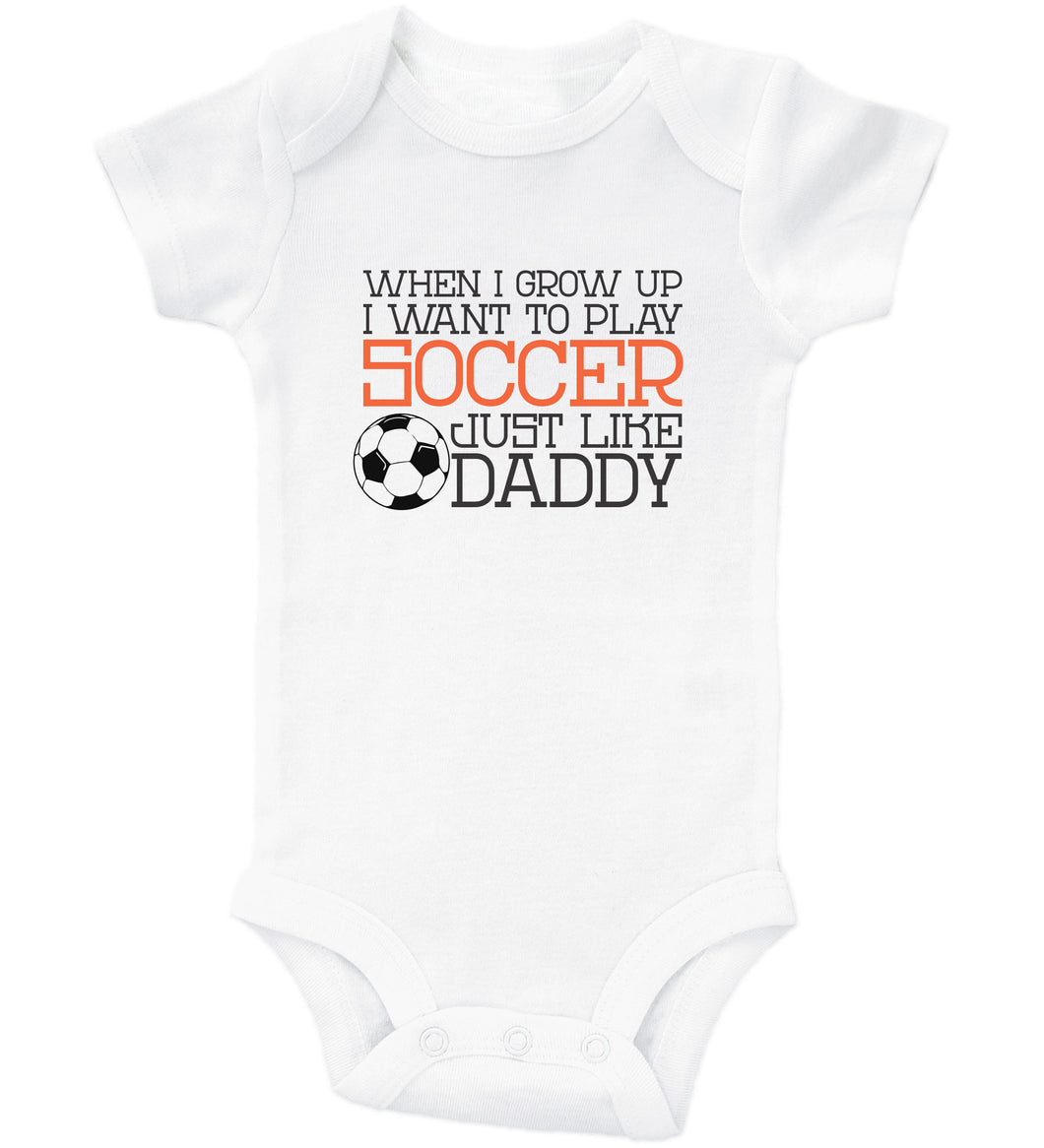 Daddy's Little Hockey Buddy / Basic Onesie