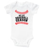 MY FIRST BASEBALL SEASON / Baseball Baby Onesie