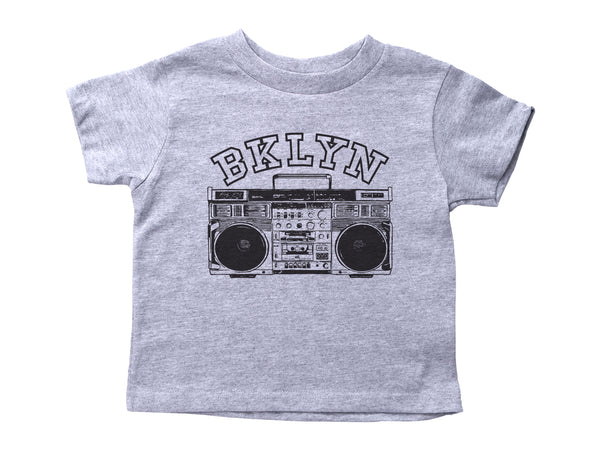 BKLYN / Brooklyn Crew Neck Short Sleeve Toddler Shirt