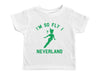 NEVERLAND / I'm So Fly I Neverland Crew Neck Short Sleeve Toddler Shirt