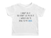 I DIDN'T DO IT. SPEAK TO MY NANA / I Didn't Do It. Speak To My Nana Crew Neck Short Sleeve Toddler Shirt