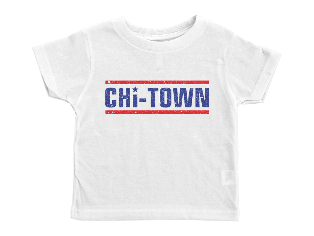 CHI-TOWN / Chicago Crew Neck Short Sleeve Toddler Shirt