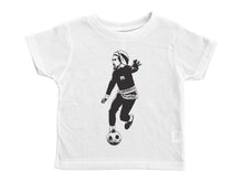 Load image into Gallery viewer, MARLEY / Bob Marley Playing Soccer Crew Neck Short Sleeve Toddler Shirt