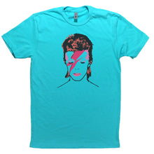 Load image into Gallery viewer, Tahiti Blue Adult Unisex T-Shirt with Biggie Smalls Graphic