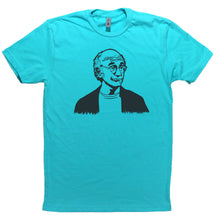 Load image into Gallery viewer, Tahiti Blue Adult Unisex T-Shirt with Larry David Graphic