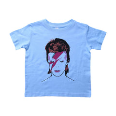 Blue Toddler T-Shirt with Biggie Smalls Graphic