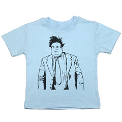 Blue Toddler T-Shirt with Chris Farley Graphic