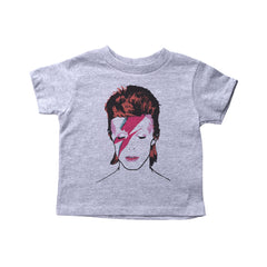 Grey Toddler T-Shirt with Biggie Smalls Graphic