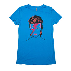 Turquoise Adult Women's T-Shirt with Biggie Smalls Graphic