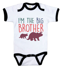Load image into Gallery viewer, I'm The Big Brother / Big Bro Ringer Onesie