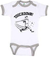 Load image into Gallery viewer, Touchdown! / Baseball Ringer Onesie