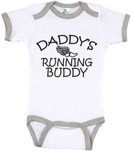 Load image into Gallery viewer, Daddy's Running Buddy / Running Ringer Onesie