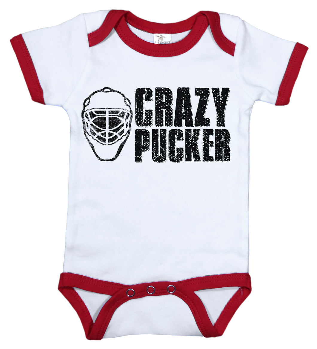 Crazy Pucker / Hockey Ringer Onesie