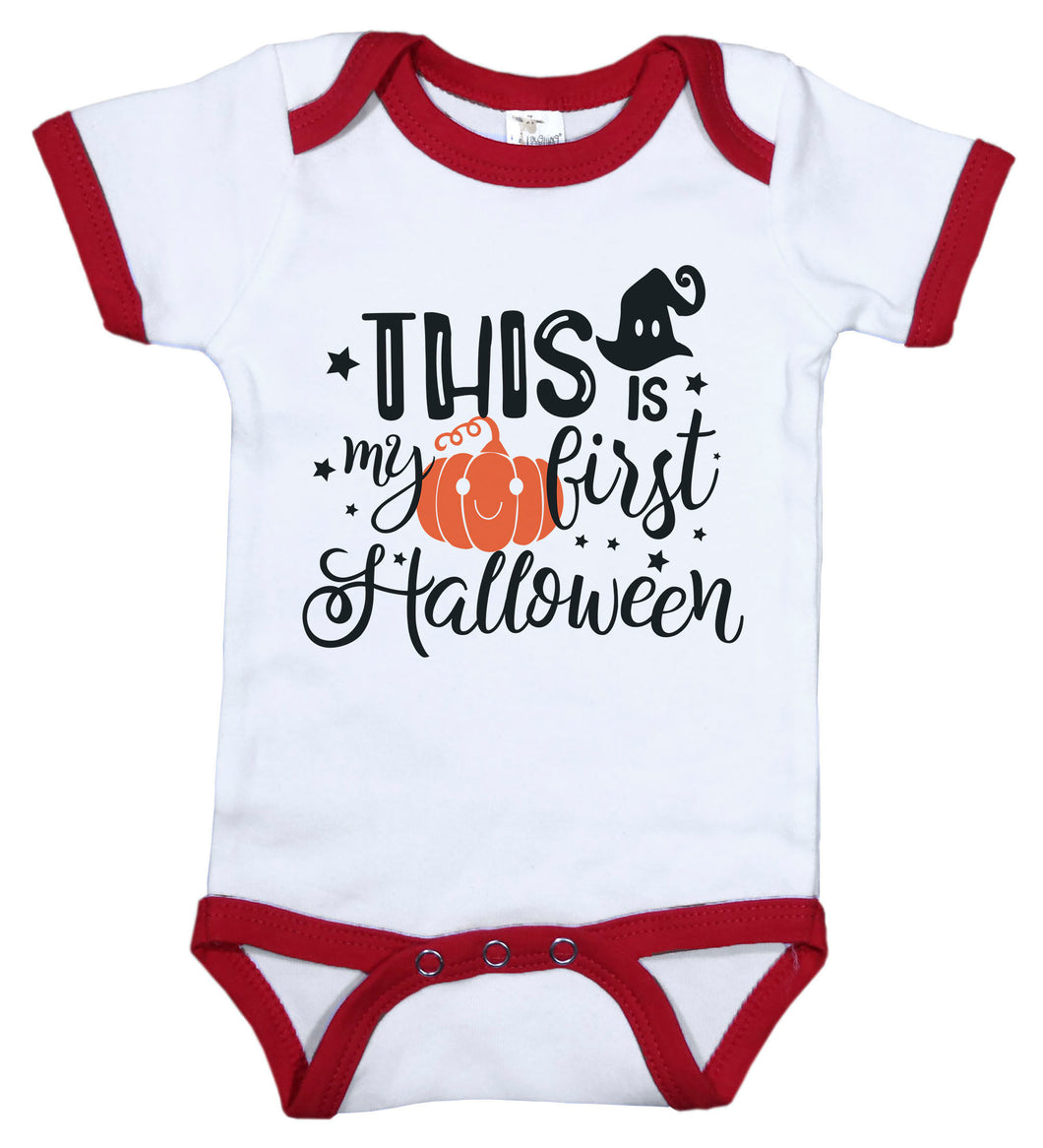 This Is My First Halloween / Ringer Onesie