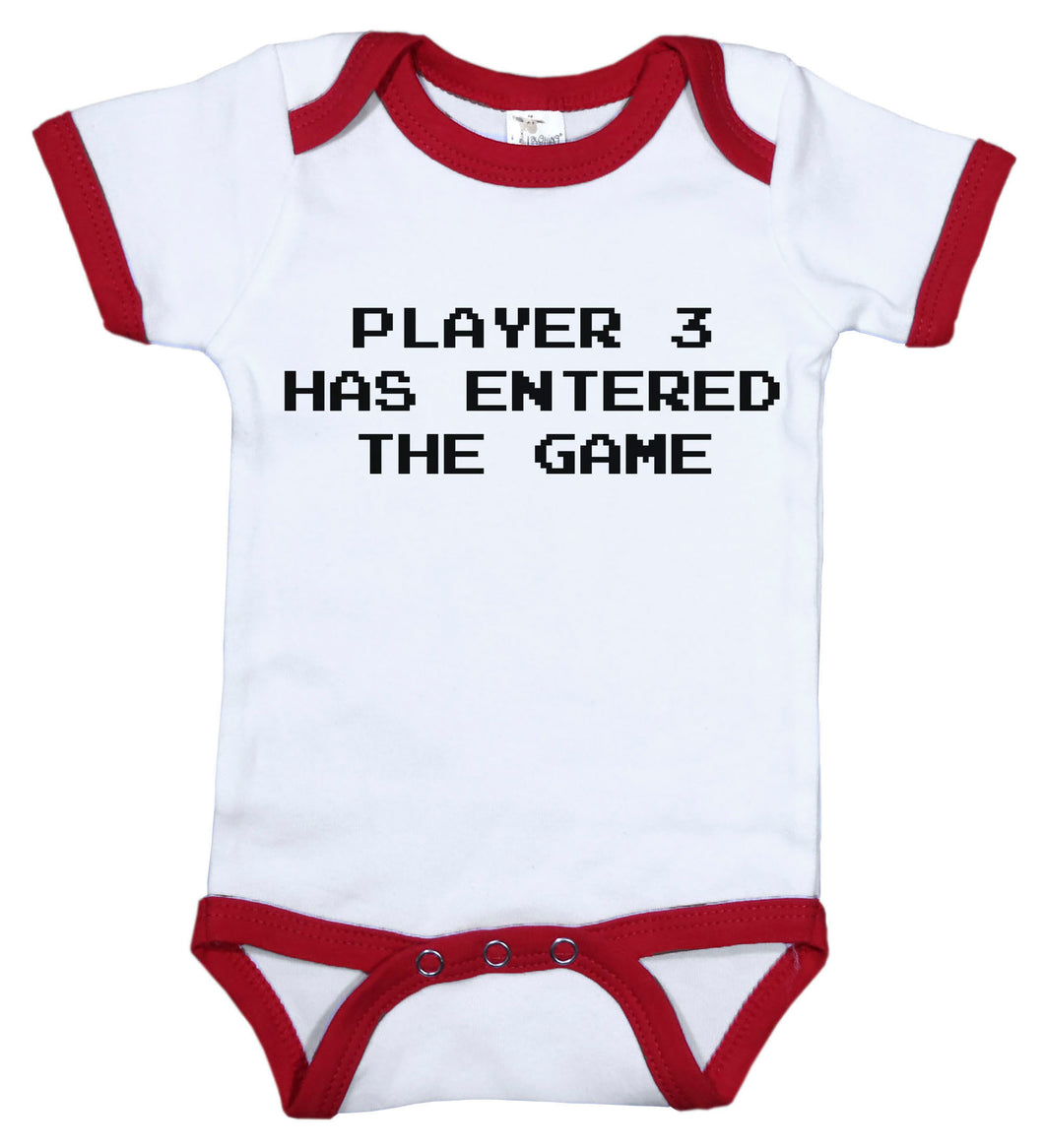 Player 3 Has Entered The Game / Video Game Ringer Onesie