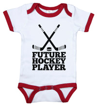 Load image into Gallery viewer, Future Hockey Player / Hockey Ringer Onesie