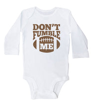 Load image into Gallery viewer, Don't Fumble Me / Football Basic Onesie
