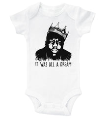 IT WAS ALL A DREAM / It was all a dream Baby Onesie