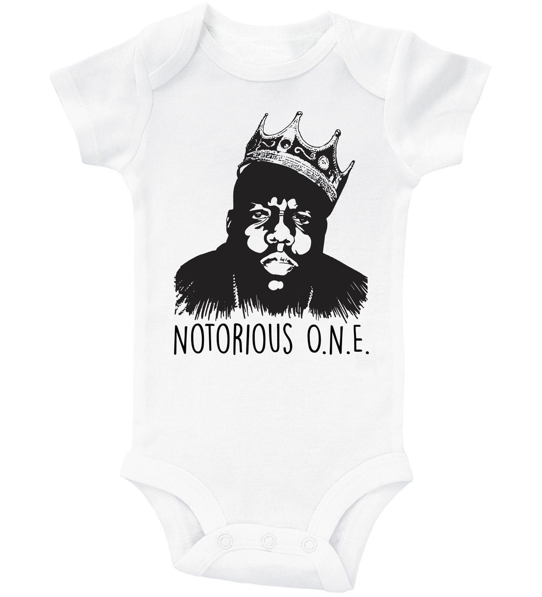 Notorious ONE / Biggie Smalls Basic Onesie