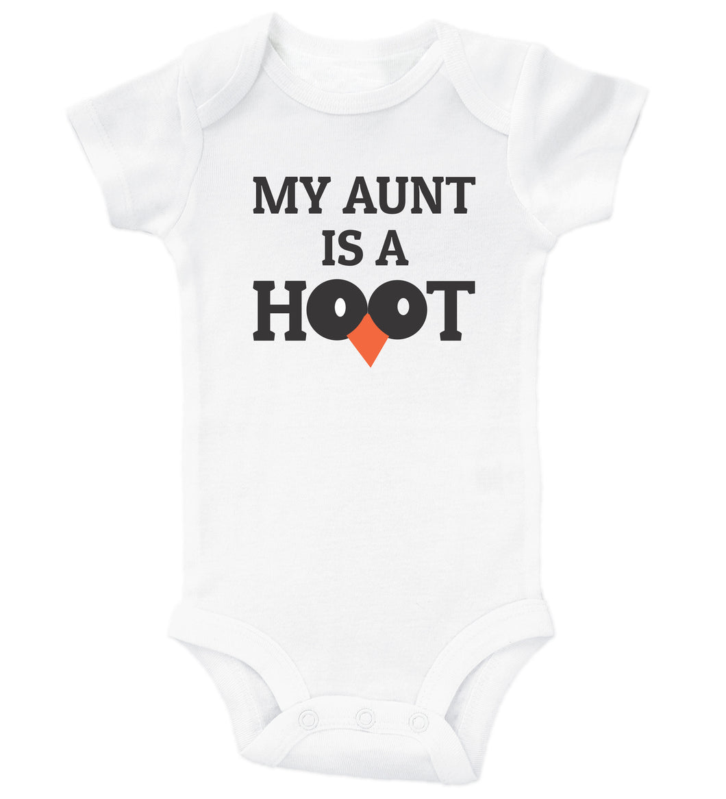 My Aunt Is A Hoot / Auntie Basic Onesie