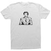 Adult Unisex T-Shirt with Ron Burgundy Graphic