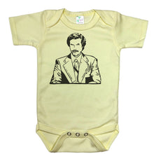 Load image into Gallery viewer, Ron Burgundy - Baby Onesie