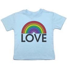 Load image into Gallery viewer, Love Rainbow - Toddler T-Shirt