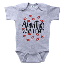 Load image into Gallery viewer, AUNTIE WAS HERE - BABY BODYSUIT - SHORT SLEEVE/LONG SLEEVE
