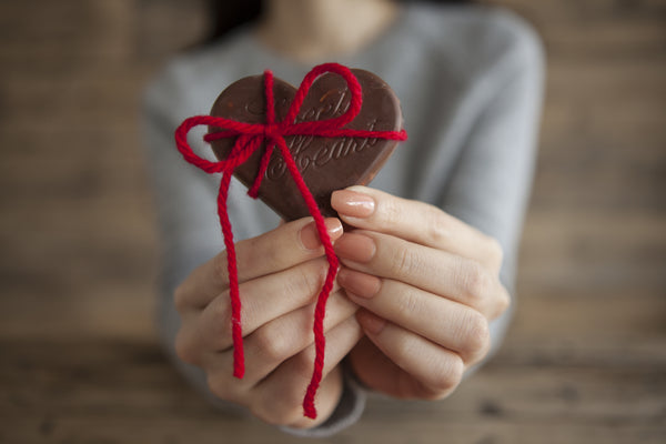 Corazon chocolate San Valentin Japon